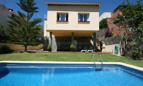 <span>To rent: </span>4 Bed Detached Villa Sitges, Quint Mar,